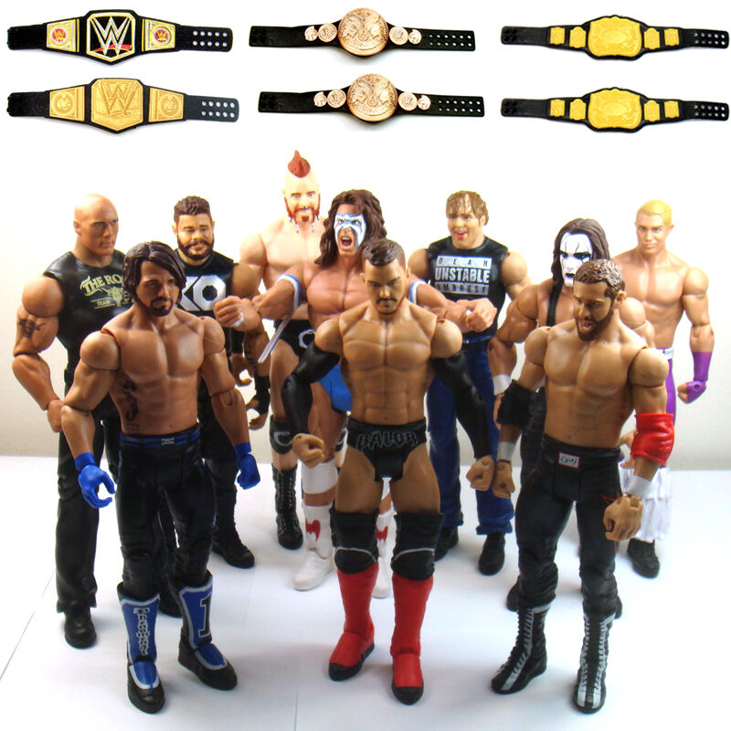 "WWE Samoa Joe /'Joe Joe Joe Joe /""Maglietta Personalizzata per Mattel figure."
