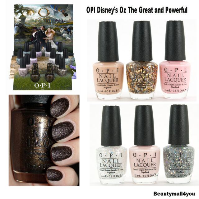 ※OPI Celebrates Disney's Oz The Great and Powerful with Limited Edition .