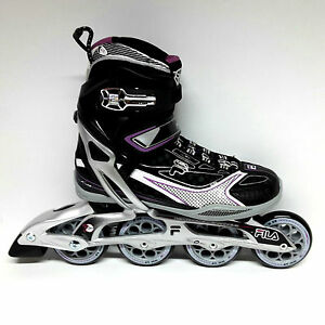 42 Abec 5 Damen Inline-Skates Fila Mizar Lady 80 schwarz Freizeit Fitness Inliner Skates Gr
