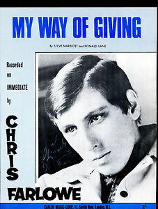 Chris-Farlowe-autographed-UK-60s-Sheet-Music-Small-Faces-song