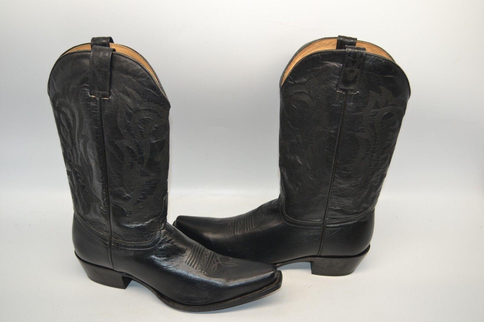Shyanne Women's black RIDING WESTERN COWGIRL Boot SZ 10 B Snip Toe BBW113