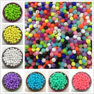 6mm-8mm-10mm-Beads-Acrylic-Round-Spacer-Loose-Beads-DIY-Jewelry-Making