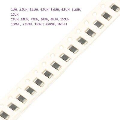 New!! 1206 SMD Chip Inductors SMT 1/2.2/3.3/4.7/5.6/100 UH 100NH 330NH-560NH Kit