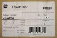 General Electric Ge Single Phase .0500 Kva Transformer 9t51b0008
