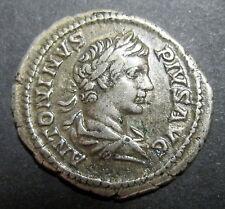 DENIER de CARACALLA (196-217) La très grande Victoire contre les Parthes