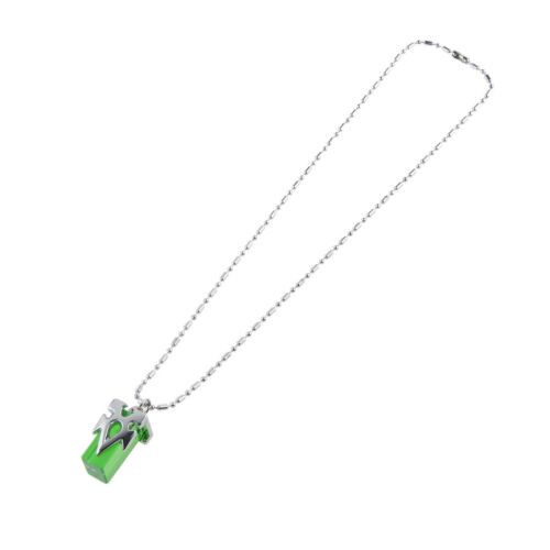 Sword Art Online Asuna Plastic Crystal Pendant Necklace Collectibles Green