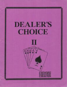 Multi-Media-fanzine-034-Dealer-039-s-Choice-II-034-GEN-Real-Ghostbusters-STARSKY-amp-HUTCH