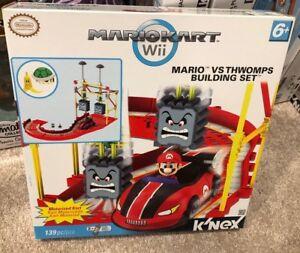 NIB K'NEX Nintendo MarioKart Super Mario vs. Thwomp Building Set