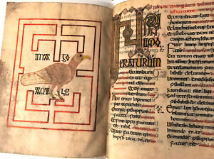 690ad Gospels Of Echternach Or Saint Willibrord Facsimile A Great Variety Of Goods