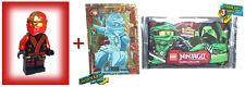 Lego® Ninjago Kai Ninja des Feuers dunkler Kimono + exclusive Sammlerkarten NEU!