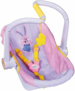 Baby-Born-Comfort-Travel-Seat-Chair-Carrier-For-Dolls-Toy-Accessory-Purple