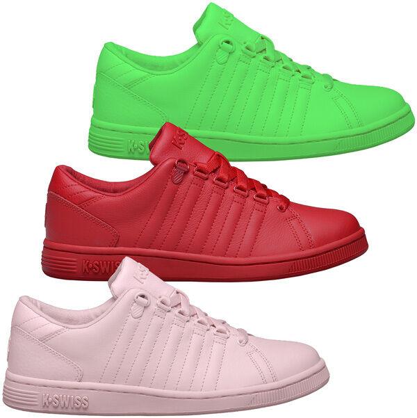 K-swiss Lozan Iii monochrome femmes baskets chaussures de loisirs 93781 Belmont Hoke
