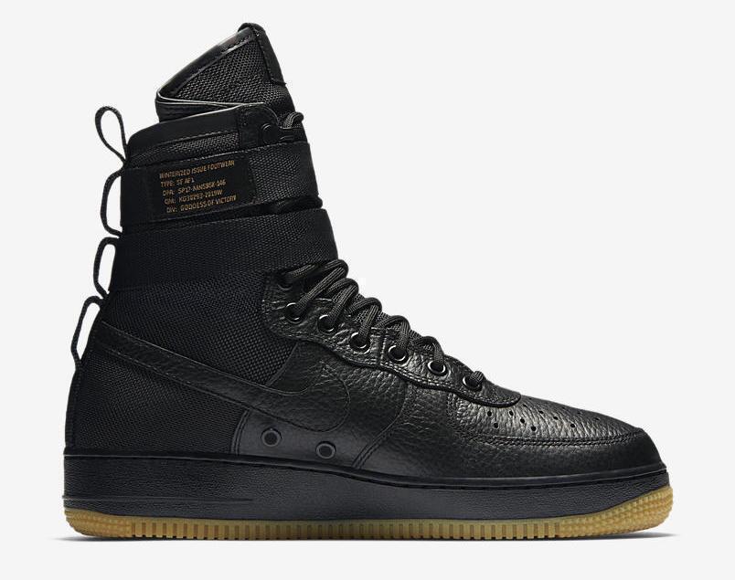 Nike MEN'S SF SPECIAL FIELD AF1 Black SIZE 9 BRAND NEW