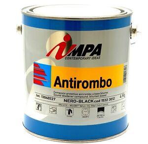 IMPA-VERNICE-ANTI-ROMBO-4-LT-IMPERMEABILIZZANTE-SOTTOSCOCCA-PER-AUTO-CARROZZERIA