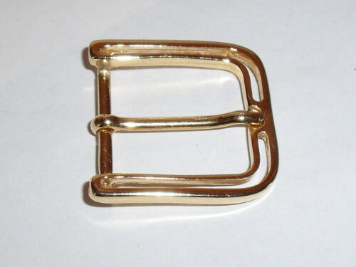 Adorno en la cintura cierro hebilla cierre de 2,3 cm Gold mercancía nueva inoxidable