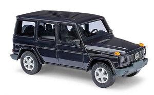 Busch-51401-HO-1-87-Mercedes-Benz-G-1990-blauw
