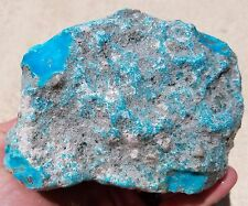 KINGMAN MINE TURQUOISE ROUGH STABILIZED BLUE W/ GREY MATRIX ARIZONA 1,600 GRAMS