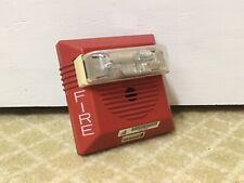 Rare Gamewell Branded 71687 Cooper Wheelock Ns Fire Alarm Horn Strobe 24vdc
