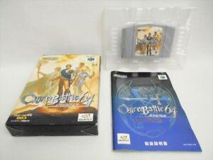 Details about OGRE BATTLE 64 Item REF/ccc Nintendo 64 Japan Game n6
