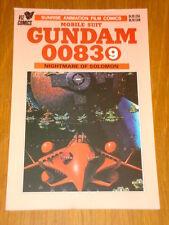 MOBILE SUIT GUNDAM 0083 #9 NIGHTMARE OF SOLOMON GN