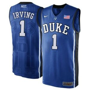 new product b68cd 9ddd9 Image is loading NWT-Kyrie-Irving-Duke-Blue-Devils-1-Adult-