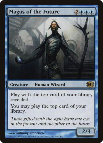 Magus of the Future Future Sight NM-M Blue Rare MAGIC GATHERING CARD ABUGames