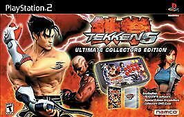 Tekken 5 Ultimate Collector S Edition Sony Playstation 2 2005