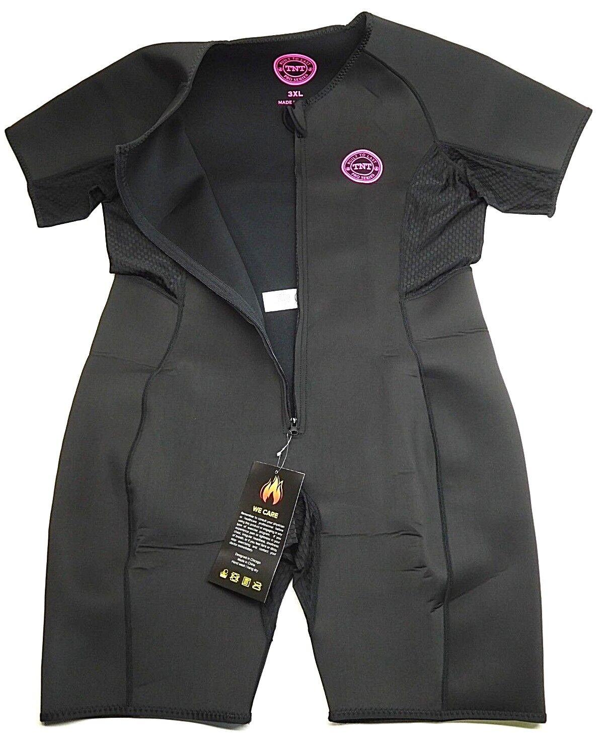 TNT Pro Series Sauna Suit Weight Loss for Men & Damens 3XL