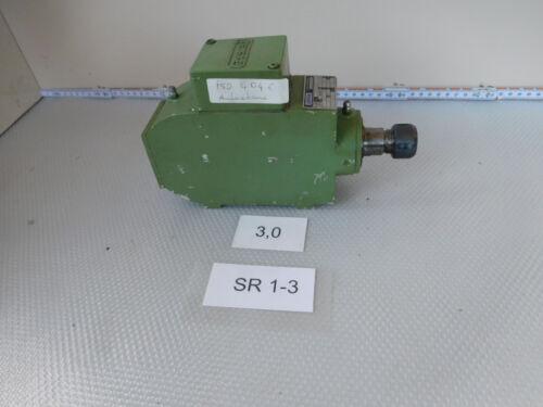 Perske vs30.06-2, cabezal de fresado velocidad 17300 1/min. 0,3 kw, pinza de sujeción grabación