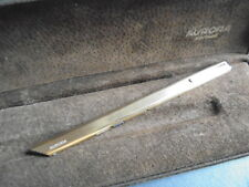 THESI AURORA VERMEIL PENNA A SFERA IN ARGENTO 925 e ORO +SCATOLA Silver Ball Pen