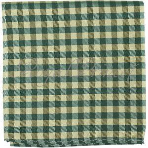 Formal 7 Color Vintage Plaids Checkers Handkerchief Pocket Square Party Wedding