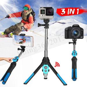 Extendable-Monopod-Selfie-Stick-Tripod-Bluetooth-Remote-For-Phone-Camera-GoPro