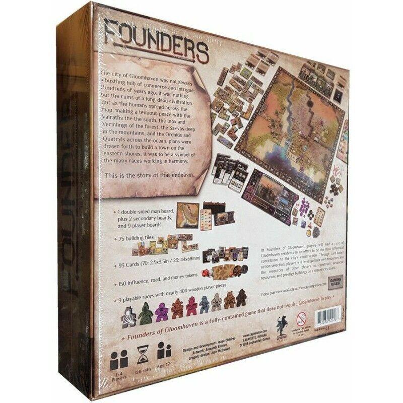 Les cadeaux cadeaux cadeaux de Noël sont envoyés tous les jours Fondateurs de gloomhaven Board Game-Neuf a0d081