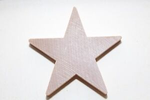 New-Large-Star-Raw-Unfinished-Solid-Wood-Craft-2-7-8-034