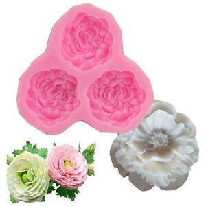 3D-Peony-Flower-Silicone-Mould-Cake-Sugarcraft-Fondant-Decoration-Chocolate-Mold