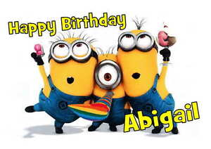 Image Is Loading Birthday Card Minion 16th 18th 21st 30th 40th