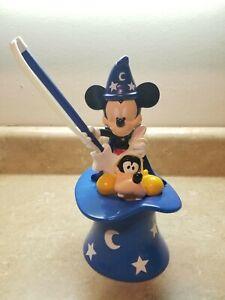 Disney-Mickey-Mouse-Goofy-Magic-Hat-Souvenir-Cup-Straw-Wand