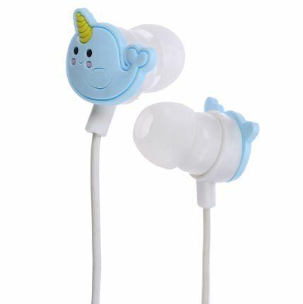 2019 Nieuwste Ontwerp Narwaii Narwhal Novelty Funky Headphones Earphones Earbuds Headset New & Boxed Zo Effectief Als Een Fee Doet