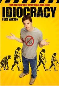 IDIOCRACY NEW DVD