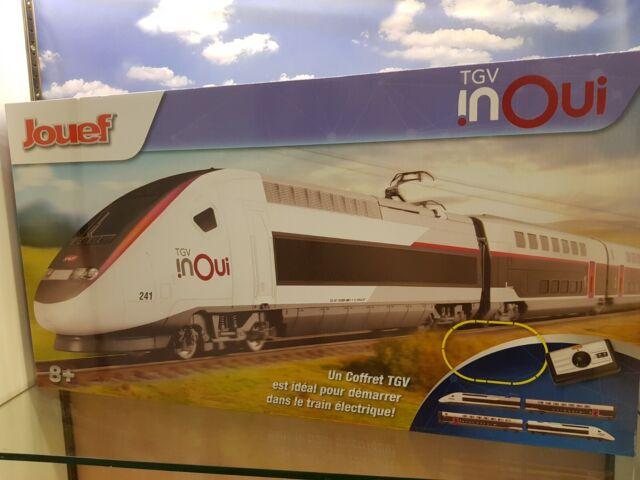 Jouef coffret départ TGV Inoui