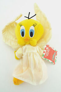 NWT-TWEETY-BIRD-ANGEL-Warner-Bros-Bean-Bag-Plush
