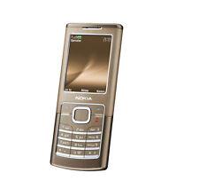 Nokia 6500 classic - Bronze (Unlocked) Cellular Phone Free Shipping