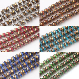 20-40Pcs-Rondelle-Faceted-Crystal-Glass-Finding-Charms-Loose-Spacer-Beads-8mm