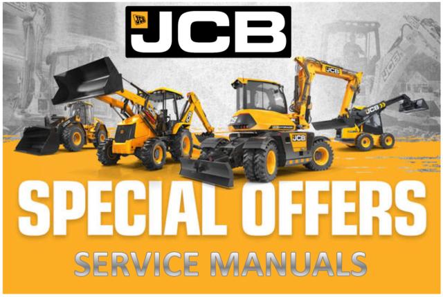 JCB 3CX, 4CX, 214e, 214, 215, 217 & Variants Backhoe Loader Repair Manual