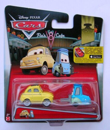 Disney Pixar Cars LUIGI /& GUIDO RARE plus de 100 voitures en vente!!!