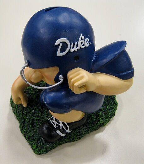 Duke University Blue Devils Football Player College Savings Bank by Talegaters