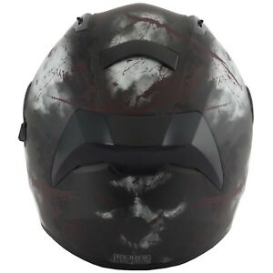 VCAN-V128-RAGE-SKULL-DEMON-MONSTER-MOTORCYCLE-FULL-FACE-HELMET-DUAL-VISOR