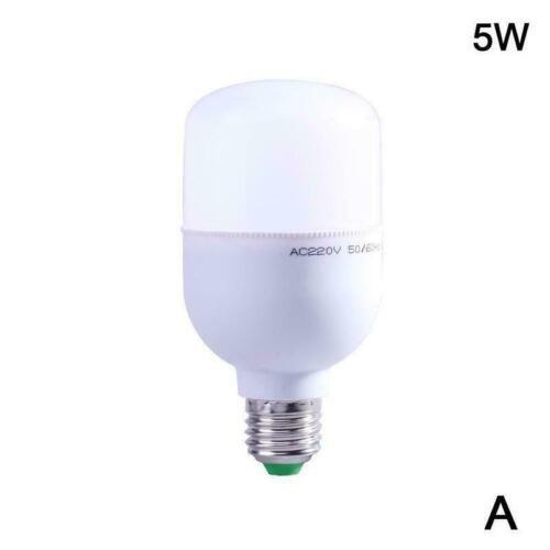 5-15W E26 E27 Weißen Smart Lampe Helle LED Lampe Licht Bis Flur Auto V2T6