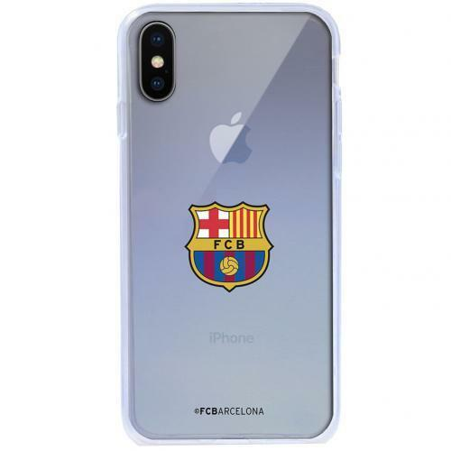 premium selection 02c3a 7c713 Fc Barcelona iPhone X TPU Case Mobile I Phone Protective Cover Official  Football