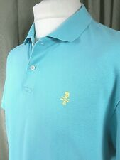 Ralph Lauren Rugby Polo Turquoise Shirt - Large EXCELLENT CONDITION